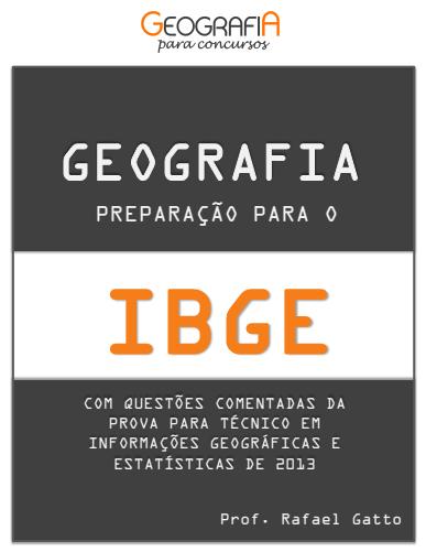Prova do IBGE nível médio Técnico em Informações Geográficas e Estatísticas