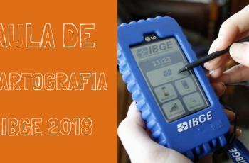 Aula de Cartografia IBGE 2018